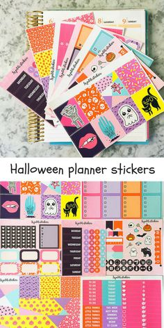 Kawaii Halloween Planner Stickers Kit! Who said halloween needed to be black? If you are looking for a funky halloween set that jumps out on you, check out these spooky Kawaii cuties! Cute and adorable Halloween stickers for your planner, bullet journal, bujo or diary… or just for fun! Also great for Halloween crafts, parties, invitations and decorations. Buy now on Etsy, worldwide delivery! #etsy #kawaii #halloween #ad #affiliatelink #cute