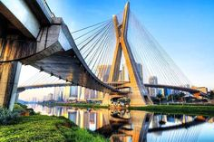 Ponte estaiada #follow @EAS_Brazil  #engenharia #engineering #architecture  #arquitetura #sustainability #sustentabilidade #green #bridge #construction #future #beautiful  #greenarchitecture #sustainabledesigns #sustainablearchitecture #recycledesigns #greenenergy #greenhouses  #river #brazil #saopaulo #structure #SP Re-post by Hold With Hope
