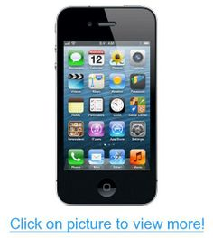 Apple iPhone 4 16GB Black - AT$T #Apple #iPhone #16GB #Black #ATT
