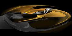 Citroen Divine DS - Interior Design Rendering