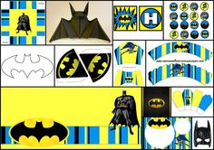 Batman: DIYs, Free Printables, Party Decoration Ideas and More. | Oh My Fiesta! for Geeks