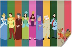 Disney Cinderella Poster by disneylove417 on Etsy, $10.00