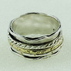 ANTIQUE DESIGN 925 STERLING SILVER SPINNER RING _ SILVEX IMAGES #SilvexImagesIndia #Spinner
