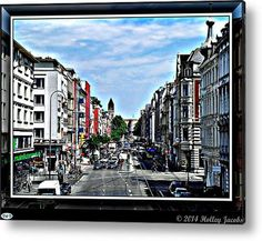 Cologne Acrylic Print By Holley Jacobs