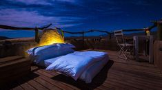 Sleep under the star with nature in its rawest form as the only thing seperating you and the sky above is your blanket. Experience this under the African skies and experience Africa at its purest and experince the best sleep of their lives. Here's our favorite starry-bed experiences; perfect for stargazers. #explorer #explorersafari #stars #sleepunderthestars #starryskies #africansky #africa #africansafari #stargazing #outdoorexperince #travel #bucketlist #stars #sky #underthestars #outdoor Dana Villas Santorini, Santorini Hotels, Santorini Greece, Luxury Tents, Luxury Hotels, Outdoor Bedroom, Namib Desert, Cappadocia, Top Destinations
