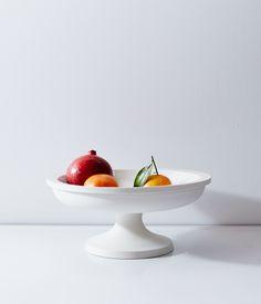Large Porcelain Fruit Stand | by John Julian Designs, available at Herriott Grace