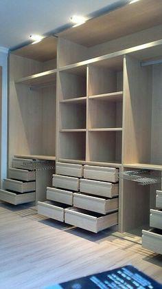 Wardrobe Design Bedroom, Master Bedroom Closet, Bedroom Furniture Design, Bedroom Wardrobe, Dressing Room Closet, Dressing Room Design, Closet Renovation, Closet Remodel, Bedroom Cupboard Designs