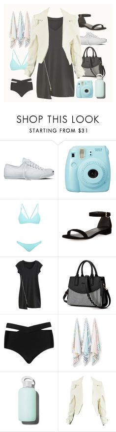 """Road Trip"" by my-style-xo ❤ liked on Polyvore featuring Converse, Fujifilm, Bower, Stuart Weitzman, Cactus, Kassatex, bkr, contest, roadtrip and contestentry"