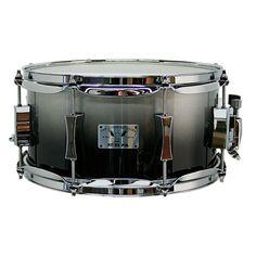 Pork Pie Little Squealer Birch/Maple Shell Snare Drum High Gloss Metal