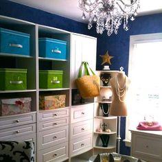 Dressing Room - Design by Kala Ambrose http://www.ExploreYourSpirit.com