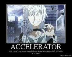 A Certain Magical Index Accelerator by Onikage108.deviantart.com on @deviantART