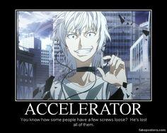 A Certain Magical Index Accelerator by Onikage108.deviantart.com on @deviantART