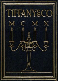 Blue Book. New York: Tiffany & Co., 1910. Watson Library Special Collections