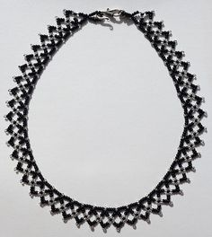 weaving cs-crafts seed bead necklace