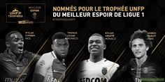 Nominated for the Ligue 1 Best Young Player Trophy