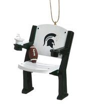 Officially Licensed NCAA Team Stadium Seat Ornament Michigan State