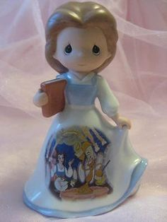 Precious Moments Disney Belle Beauty and The Beast Princess Figurine Bradford | eBay