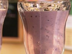Big Berry Smoothie from FoodNetwork.com...I also added some frozen acai and topped this with granola like the picture...breakfast on the go!
