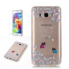 Yrisen 2in 1 Samsung Galaxy J5 2016 Hülle Silikon Schutzh…