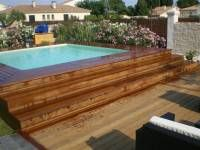 1000 images about piscines on pinterest piscine hors for Piscine hors sol wood grain