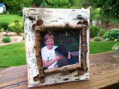Webelo craftsman idea frame -- made from CD case
