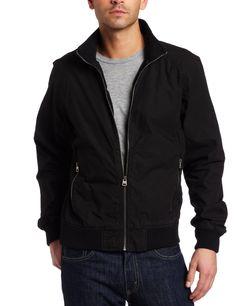 Levi's Men's Washed Bomber Jacket: Clothing