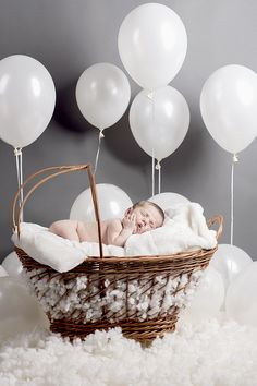 Fotografia de bebés - Algodão Turquês