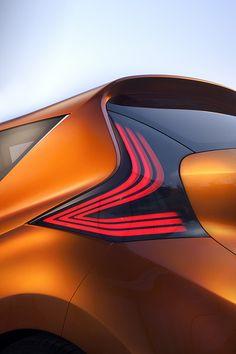 #Nissan #Invitation #Concept #Car #rearlights