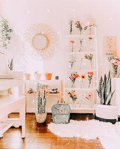 Cute Bedroom Decor, Cute Bedroom Ideas, Room Ideas Bedroom, Bedroom Inspo, Dream Rooms, Dream Bedroom, Aesthetic Room Decor, Cozy Room, My New Room