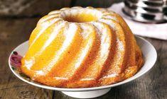 Κέικ νηστίσιμο με σιμιγδάλι – Χρυσές Συνταγές Doughnut, Pancakes, Deserts, Pudding, Breakfast, Food, Salad, Morning Coffee, Pancake