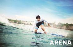 Lee Ki Woo In Bali For ARENA HOMME PLUS