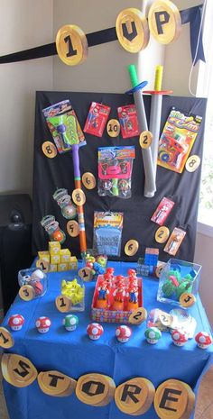 Super Mario Brothers Birthday Party Ideas   Photo 9 of 14   Catch My Party
