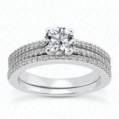 NEW DIAMOND ENGAGEMENT SET