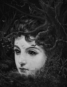 karithina:  luminousinsect:  sealmaiden:  Dan Hillier Forest, 2010 (via liquidnight)