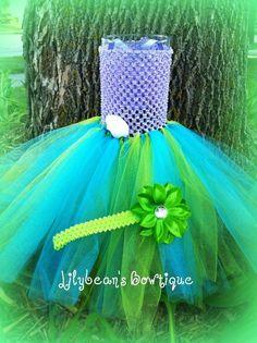 Ariel (Little Mermaid)  tutu dress- Photo prop, Birthday dress