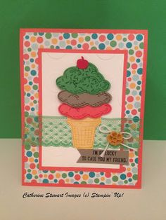 Designs and Expression: Stampin' Up! Sprinkles of Life Card Idea