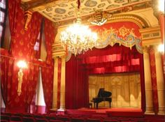 France Chateau de Brissac - theatre