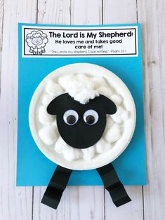 The Lord is My Shepherd Sunday School Activities Toddler Sunday School, Sunday School Crafts For Kids, Sunday School Activities, Bible Activities, Sunday School Lessons, Vocabulary Activities, Toddler Crafts, Preschool Crafts, Sheep Crafts