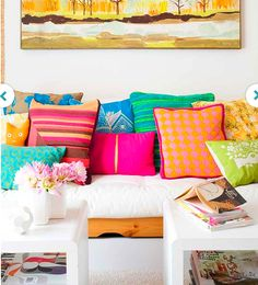 Introducing bright colours will lift the energy. Look into colour therapy - Inna is the expert > find out more. http://www.mysticmonkey.com.au/product.asp?pID=665&cID=64