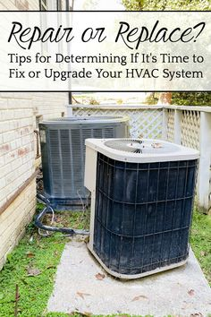 AD: 3 tips for determining if it's time to fix or upgrade your HVAC system for saving money, energy, and improving air quality in your home. #TraneResidential #Unstoppable