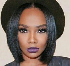 Cut, lippie, brows, hat