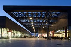 Asmacati Shopping and Meeting Point by Tabanlioglu Architects