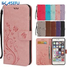 For Apple iPhone 6 4.7 Case Cover Stand Wallet Luxury Retro Leather Flip Case for Coque iPhone 6 S 6S Cover Silicone Funda Capas