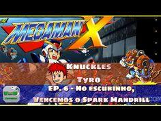 Mega Man X - No escurinho, vencemos o Spark Mandrill!   Blog Viiish Channel