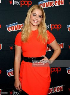 Sasha Pieterse attends New York Comic-Con 2015 - Day 2 at The Jacob K. Javits Convention Center on October 9, 2015 in New York City.
