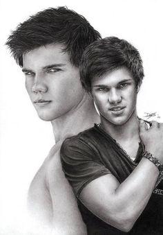 Taylor Lautner by D17rulez {Daisy van den Berg of the Netherlands} on deviantART ~ traditional pencil portrait