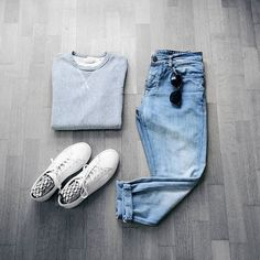 "CAPSULE WARDROBE (@capsulewardrobemen) on Instagram: ""Sunday Outfits. Follow @capsulewardrobemen for more. . . . #mensfashion #flatlay #outfitgrid…"""