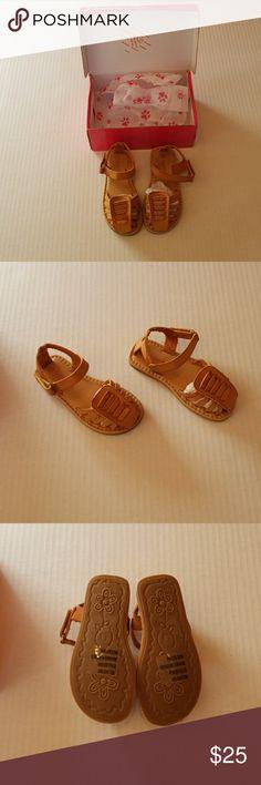 NIB Rugged Bear tan toddler sandals NIB Rugged Bear tan toddler sandals. Boutique sandals. Rugged Bear Shoes Sandals & Flip Flops