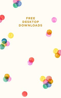 Loads of gorgeous desktop backgrounds and phone wallpapers from Designlovefest