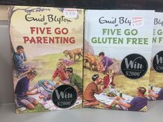 Looks funny. Famous five go gluten free. Five on brexit island